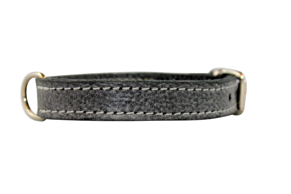 Halsband Nature Grey 1,5cm breit